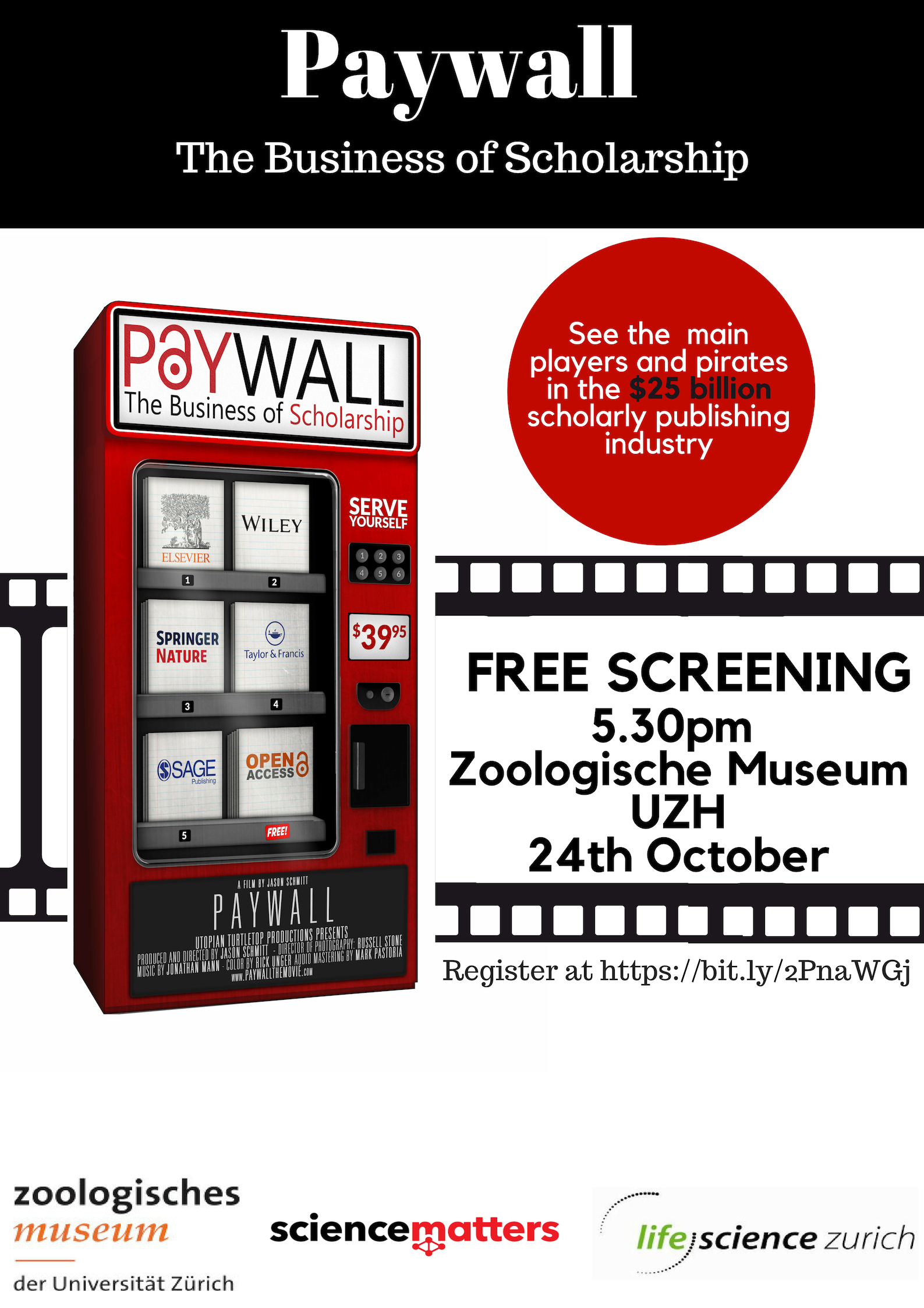 Poster Paywall Movie Screening